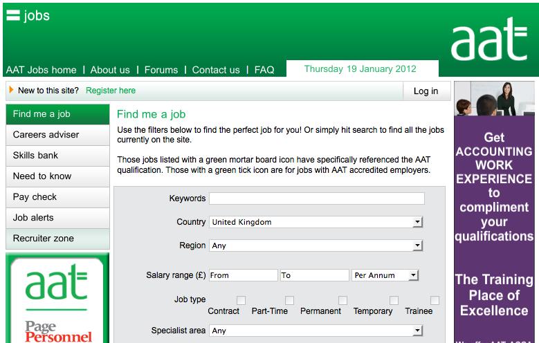 AAT Jobs