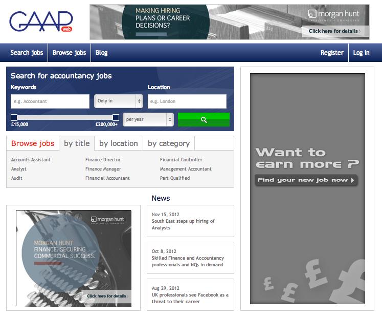 GAAP web