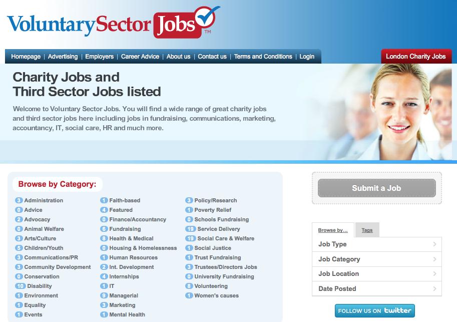 Voluntary Sector Jobs