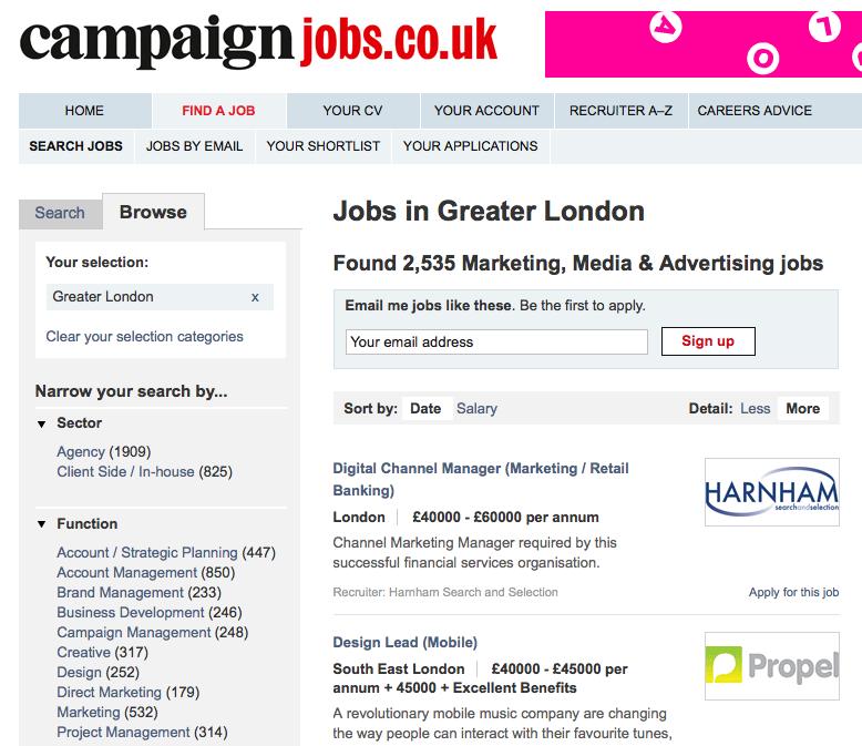 Campaign Jobs