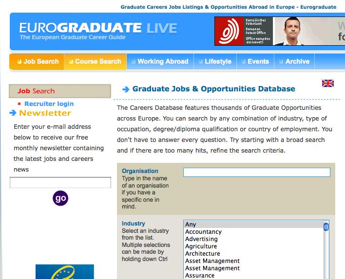 Eurograduate