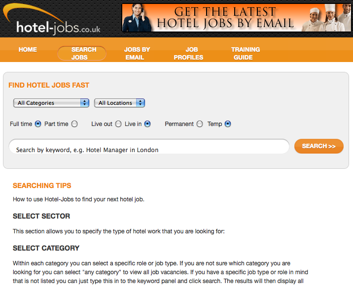 Hotel-jobs UK