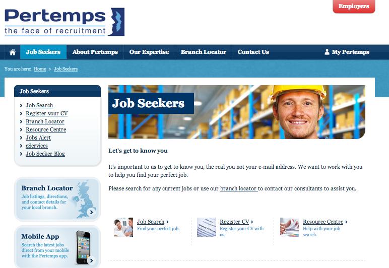 Jobs Pertemps