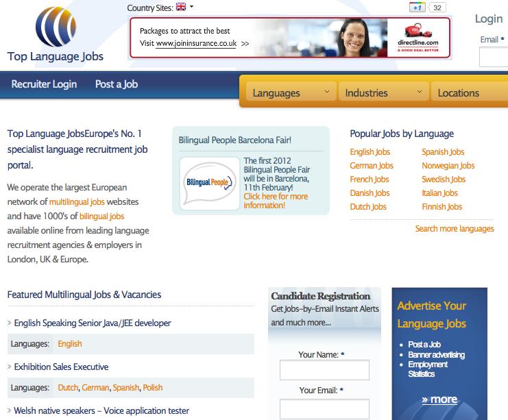 Top language jobs