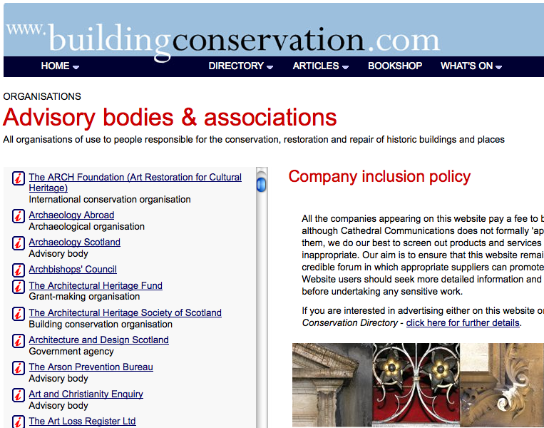 Buildingconservation.com