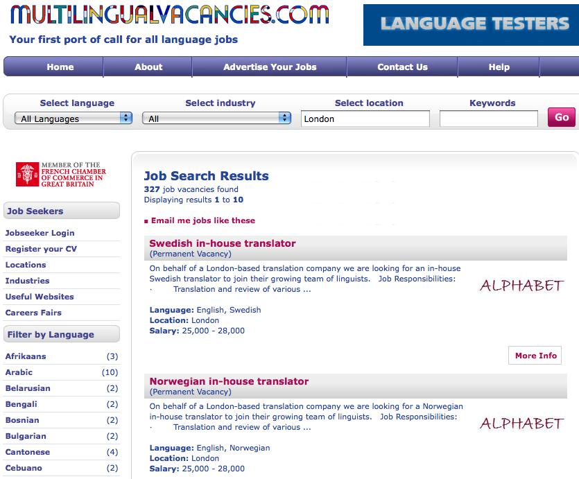 Multilingualvacancies