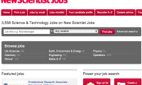 New Scientist Jobs