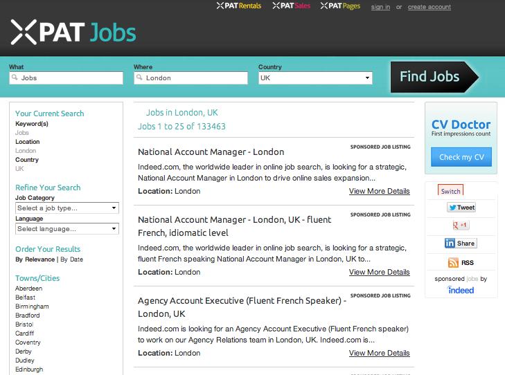 Xpat jobs