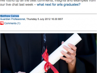 Careers Tips for Arts Graduates