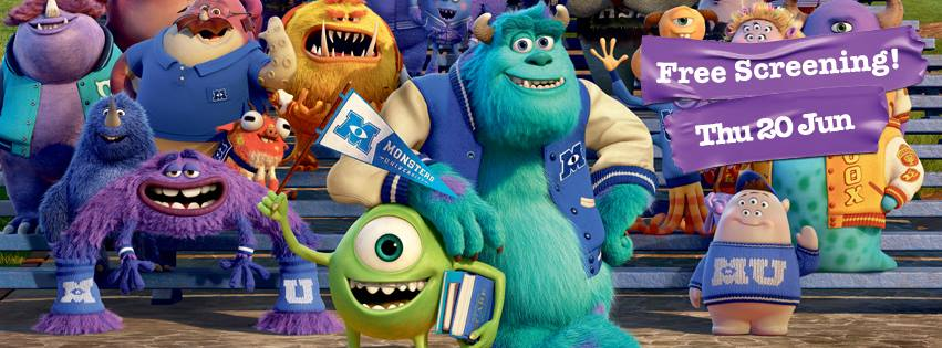 Free Preview of Monsters University
