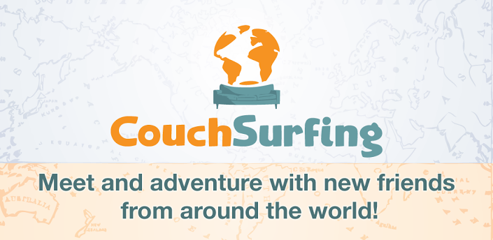 Free Short Term Accommodation through couchsurfing.org