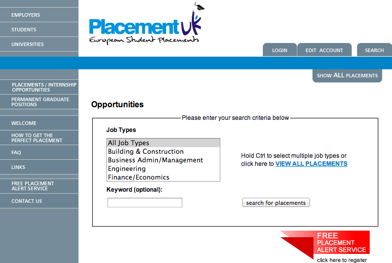 Placement UK
