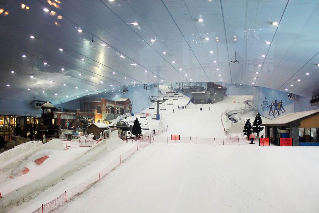 Indoor Ski Centre In London Broke In London