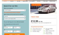 easyCar UK cheap car rentals