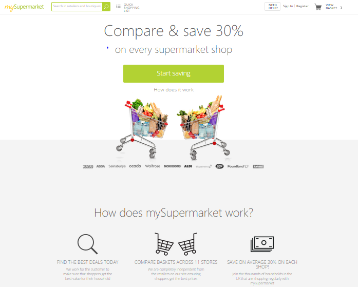 mySupermarket.co.uk Review