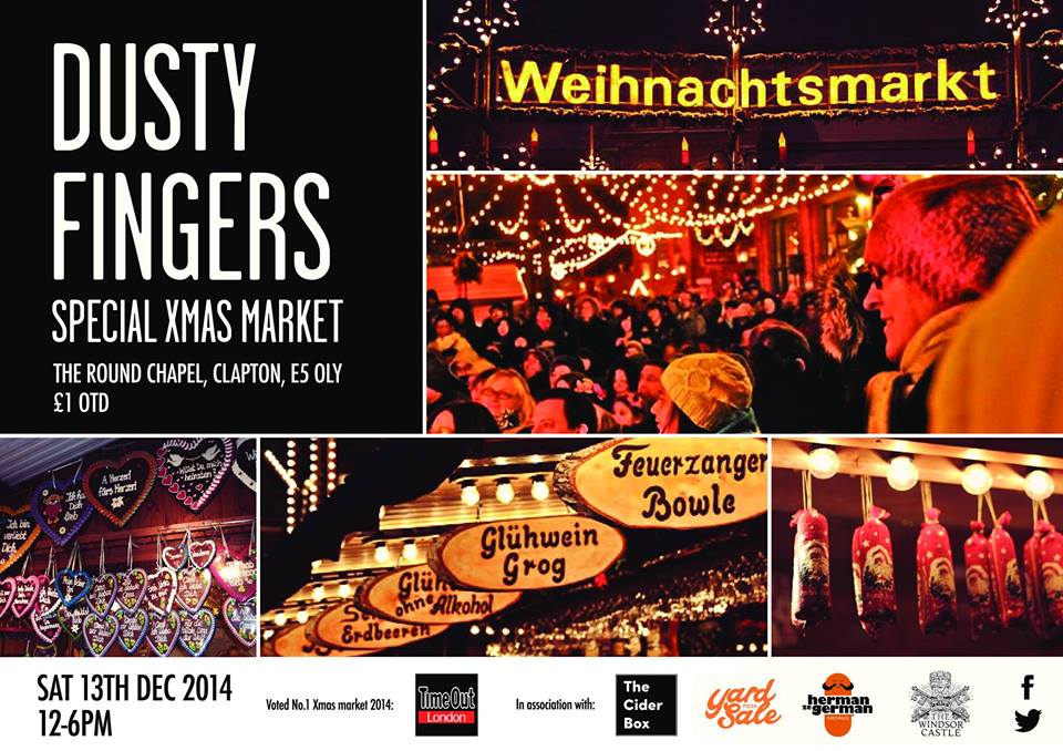 German Christmas Market with Dusty Fingers.