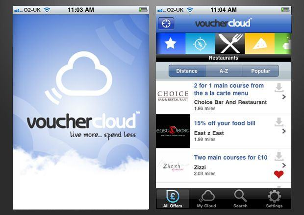 Best Money Saving Apps - Vouchercloud