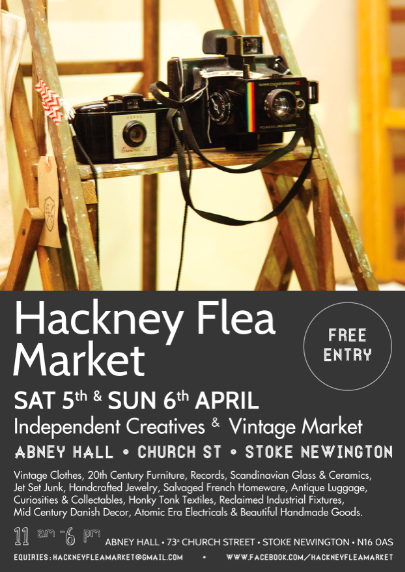 Hackney Flea Market April 2014