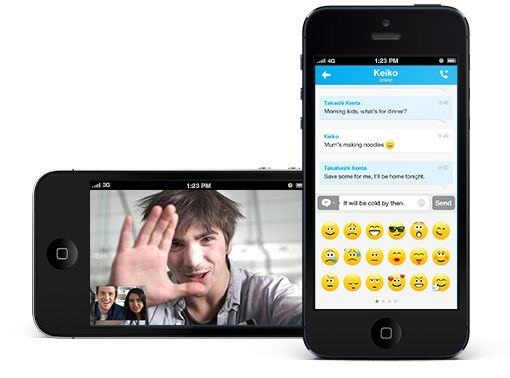 Money Saving Apps - Skype app
