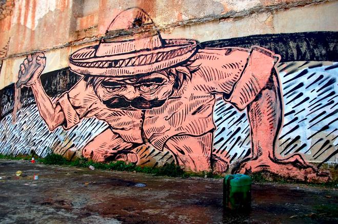 Boohaha street art