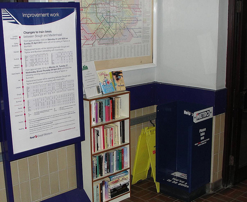 Book Swapping West Ealing station