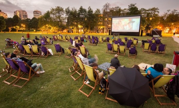 Free Pop-up Cinema in South London