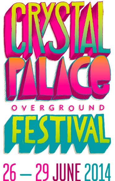 Crystal Palace Overground Festival - Poster