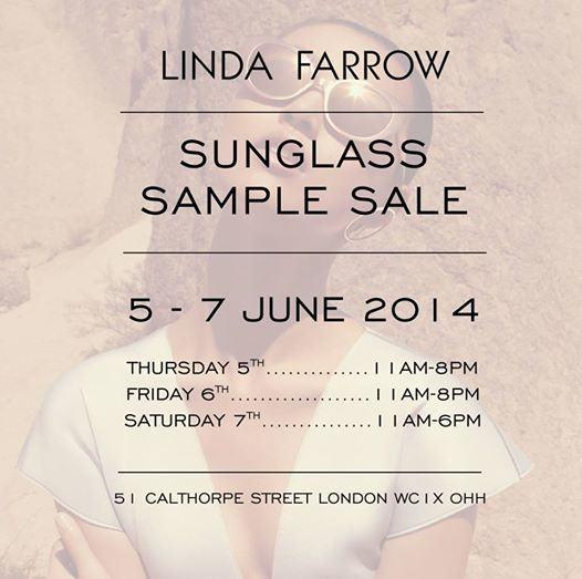 Sample Sales in London 2014
