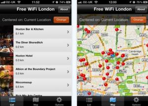 Free WiFi in London