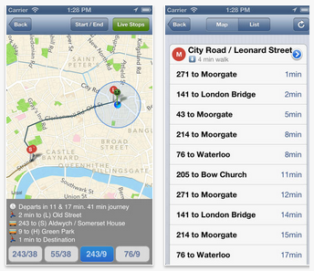 Top 10 Free London Transport Apps