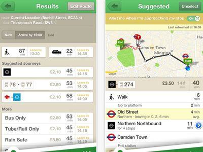 Citymapper - Free London Transport Apps