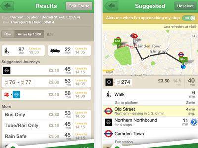 Citymapper - Free London Transport Apps