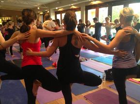 Free Yoga in london - lulelemon