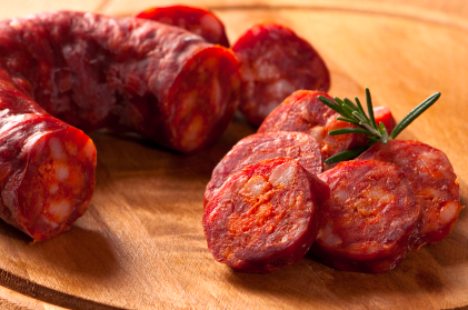 Spanish chorizo sausage