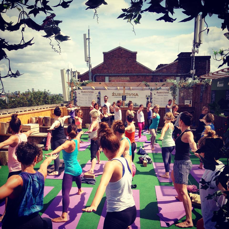 Free yoga in London
