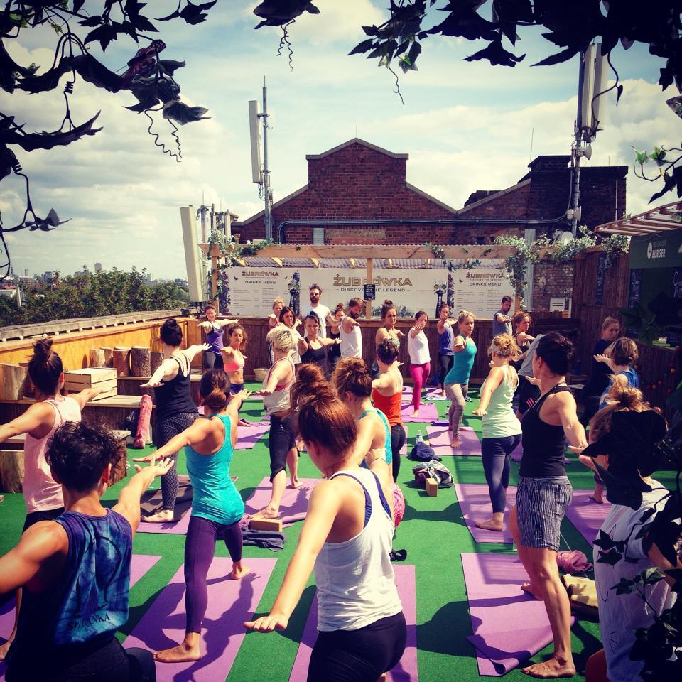 Free yoga in London