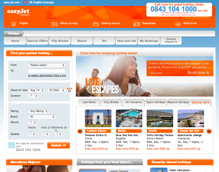 easyjet holidays review