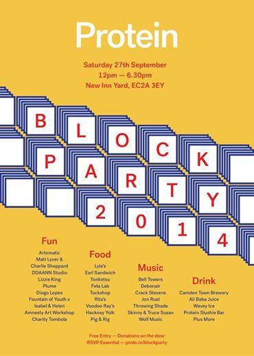 Protein Block Party 2014