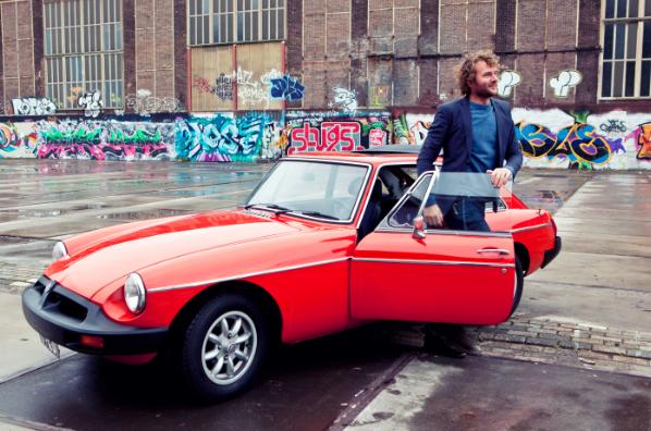 Alpha Romeo retro car