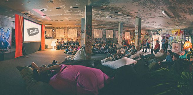 Pillow Cinema in Shoreditch
