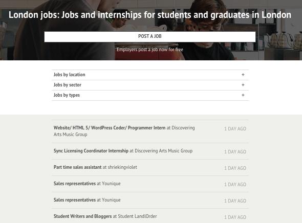 Studentbeans Jobs
