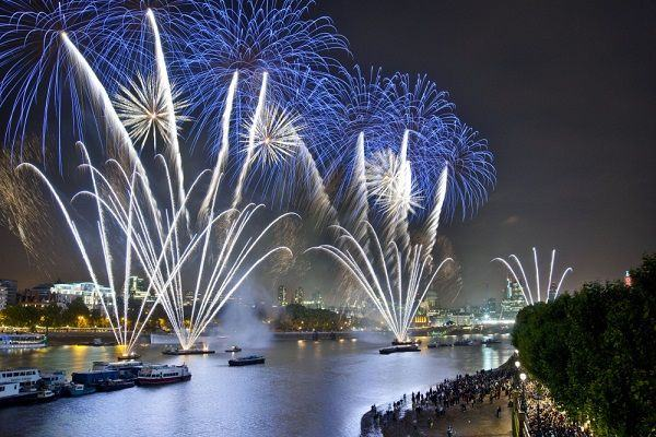 Free Fireworks Displays in London