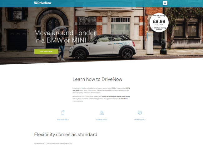 DriveNow UK review