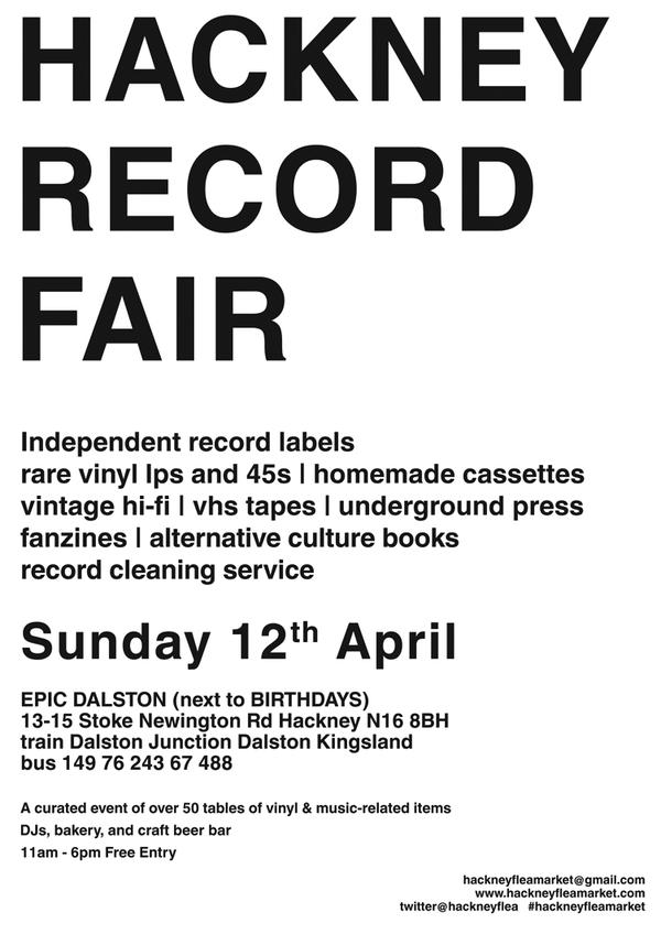 Hackney Record Fair