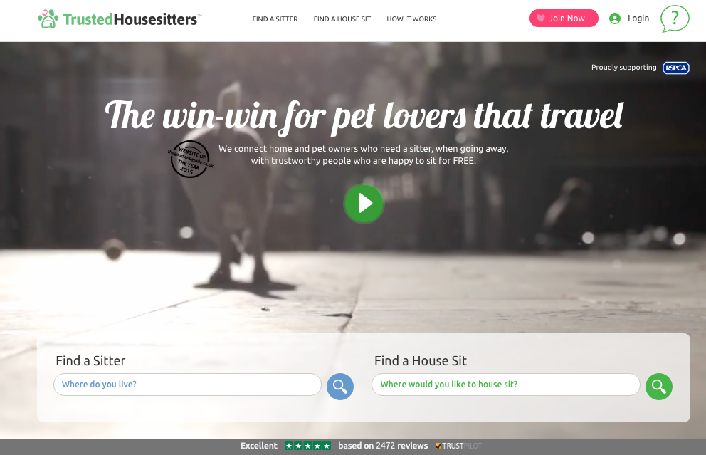 TrustedHousesitters Review