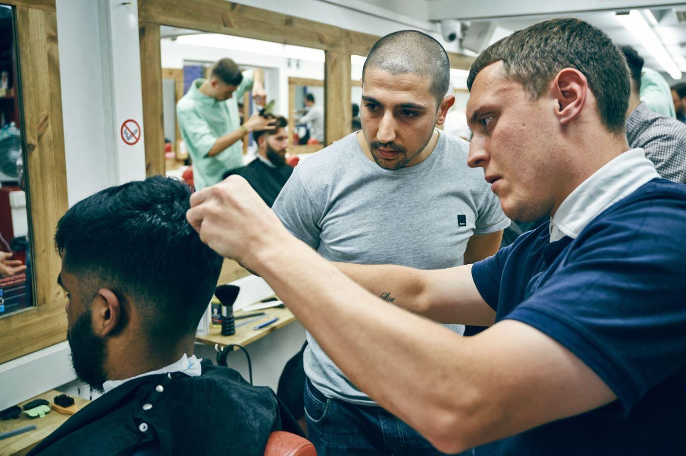 London School Of Barbering Free Haircuts Brokeinlondon