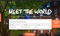 Hostelworld.com homepage