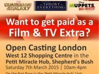 Be a Film and TV Extra in London - Open Casting