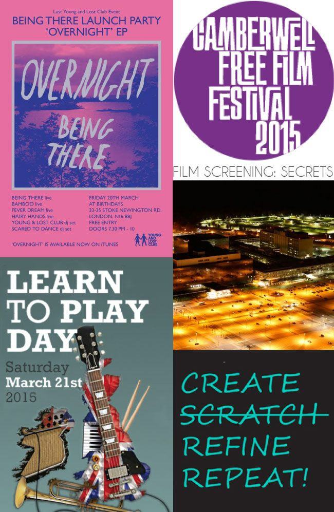 Top 5 Free Events in London this Weekend 20-22 March 2015