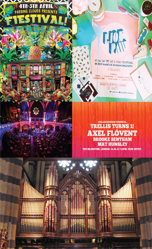 The Top 5 free events in London this weekend 3-6 April 2015Top 5 free events in London this weekend 3-6 April 2015